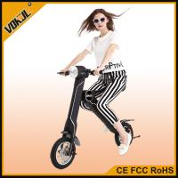 Fashion K1 Green Two Wheel Electric Vehicle/Foldable Electric Bike With CE Certification