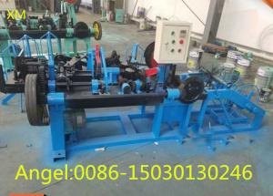 China High speed full Automatic Double Twisted standard Barbed Wire Machine on sale