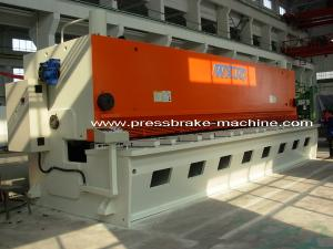 China Hand Hydraulic Guillotine Shear , Guillotine Metal Cutting Machine on sale
