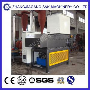 China One Shaft 37 KW PVC Crusher Machine For Agricultural Film Screen on sale