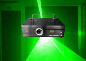 China Super Brightness 300mw Green Ilda Laser Show Light / Disco Light Laser Porjector For Stage on sale