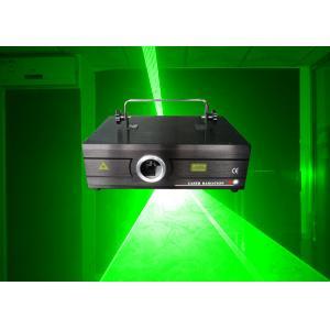 China Super Brightness 300mw Green Ilda Laser Show Light / Disco Light Laser Porjector For Stage on sale