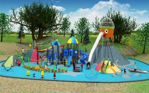 China Cartoon Custom Playground Slides Non Standard With Design Plane Planning on sale