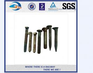 China ZhongYue customize galvanize track spikes for Thailand railway project on sale