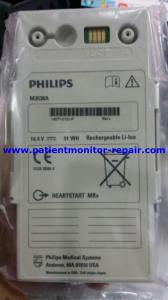 China Original PHILIPS New HEARTSTART MRx Lithium Ion Battery Module 14.4V 91Wh M3538A on sale