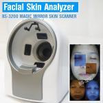 Máquina de la prueba de la edad de la piel de 8800 iluminaciones/máquina del cuidado de la cara con la luz ISO9001 del RGB