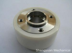 China Ceramic / Stainless EDM Wire Cut Parts Consumables Precision Turned Pinch Roller on sale