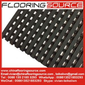China Heavy Duty PVC Grid Mat Anti Skid for Wet Areas Mats Pool Mats Leisure Mats Non Slip Safety Mats PVC Roll Mattings on sale