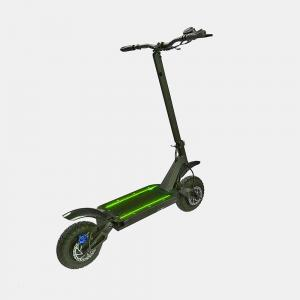 China New EcoRider 10 Inch Electric Scooter Portable 2000W Folding Off Road Electric Scooter From China Factory on sale