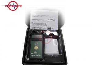 China Wireless Camera Signal Detector Detecting For Mobile Phone / GPS / 1.2G 2.4G 5.8G on sale