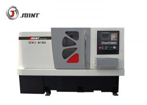 China 250mm Chuck Flat Bed CNC Lathe Machine , High Speed Computer Controlled Lathe on sale