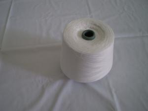 China Virgin Cotton Ring Spun Raw White Yarn For Embroidery , Weaving on sale