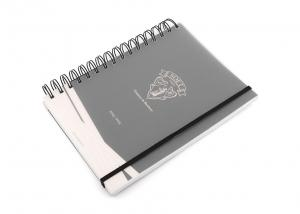 China A5 Plastic Matte Soft Cover Notebook Journal / Diary With Spiral Binding on sale