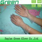 セリウム ISO 13485 DOTP の使い捨て可能なポリ塩化ビニールの手袋を働かせる企業の等級
