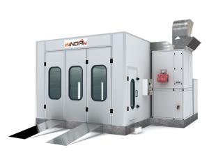 China Riello Burner Auto Spray Booth With Exhaust Fan And Intake Fan WD-20 on sale