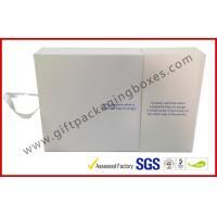 White Magetic Electronics Packaging / Custom Advertising Video Box