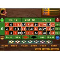 China 12 Players Automated Roulette Machine 110 220V Tickets Printer Supported on sale