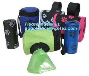 China Silicone dog waste poop bags holder for pet dog poop waste bag, Wholesale Sell Pet Special Waste Bag Durable PE Dog Poop on sale
