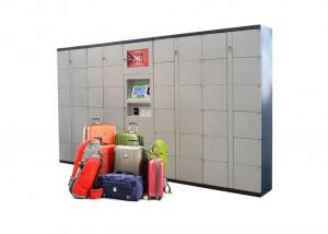 China Airport Automated High Quality  beach  Luggage rental storage Lockers With Phone Charging and door open remotely on sale