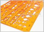 作戦指揮 8353 のための透明で黄色い色スクリーンの印刷分野のキット