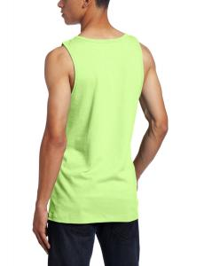 China Relaxed Green Mens Casual Tops With Screen Print Graphics For Boys on sale