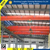 Workshop Overhead Crane 5 ton Single Girder Overhead Crane Bridge Crane 5 ton for sale