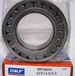 China High temperature spherical roller bearing SKF 22214E advanced technology on sale