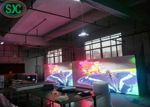 China P4 Indoor RGB LED Display SMD 1R1G1G Die Cast Aluminum Cabinet Rental Usage on sale