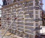 construction concrete wall formwork