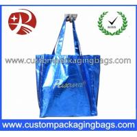 Biodegradable Soft Flex-loop Carrier  Die Cut Handle Plastic Bag with Punch Hole