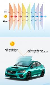 China Nano Solar Blue Light Blocking Film Heat Control Anti Scratch For Car Windows on sale