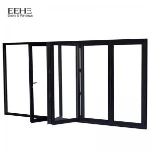 China Water Resistant Aluminium Folding Doors For Office Buildings Balcony on sale