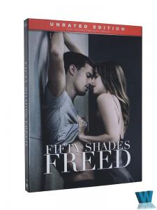 China 2018 hot sell Fifty Shades Freed 1DVD Region 1 DVD movies region 1 Adult movies Tv series Tv show Drop shipping on sale