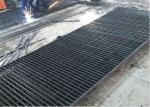 Industrial Galvanised Steel Mesh Flooring  Grating Mild Mild For Metal Building