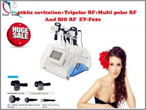 China 40khz cavitation+Tripolar RF+Multi polar RF and BIO RF slimming machine, EV-F020 on sale