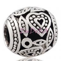 China European Bead Heart Beads on sale