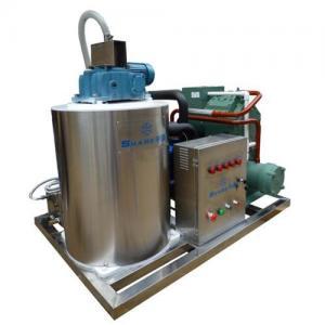China Seawater flake ice machine on sale