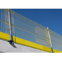Temporary Edge Protection Barriers Fall Prevention 2600 X 1150mm Size