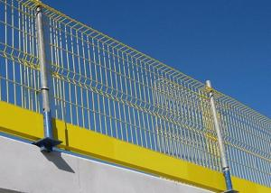 China Temporary Edge Protection Barriers Fall Prevention 2600 X 1150mm Size on sale