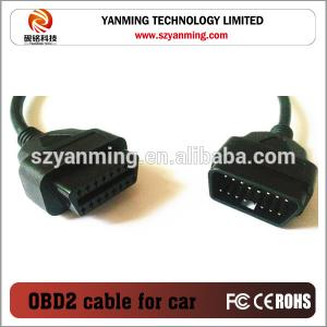 China OBD OBD2 Male to Female 16pin connector Extension Cable on sale