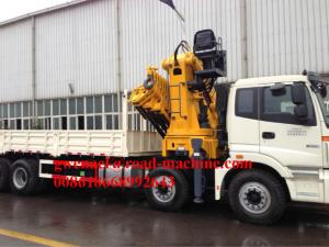 China 290HPEuro II Right Hand Driving Truck Mounted Crane  With Straight Tlescope Boom on sale