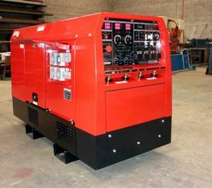 China Original Engine Kubota Diesel Generator / 400A DC Diesel Welding Machine 10kva on sale