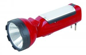 China Strong Emergency Led Flashlight Rechargeable , Charging Torch Light AC110-240v on sale