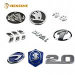 Durable ABS OEM Injection Molding For Chrome Electroplating Auto Car Emblems