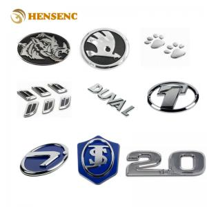 China Durable ABS OEM Injection Molding For Chrome Electroplating Auto Car Emblems on sale