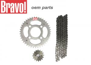 China OEM Honda Motorcycle Parts Kit Transmissao Relacao Cg 150 Ks/Es Titan Honda Cg 150 (04-) 43x16 on sale