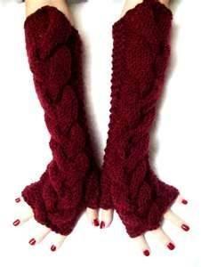 China Custom Knitting Arm Warmer Fingerless Long Gloves, hand warming gloves on sale
