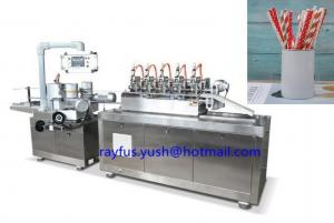 China Paper Straw Making Machine, Paper Straw Forming Machine, for drinks on sale