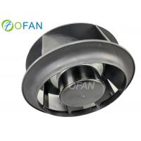Fireplace Centrifugal Backward Curved Fan , EC Motor Centrifugal Roof Fans