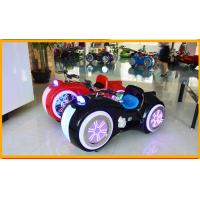 DC 24V Battery Operated Bumper Cars , Kids / Adult Bumper Cars With Music Function